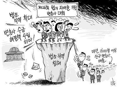 """""""정부·국회, 법조직역 확대·변호사 수급 해결책 수립하라"""""""