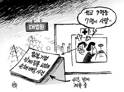 강제징용 일본기업 상대 소송… 대법원 4년째 '감감'
