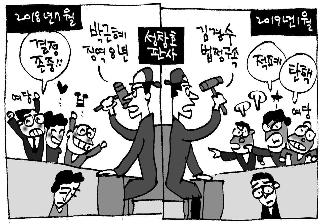 [취재수첩] 도 넘은 판결 비난