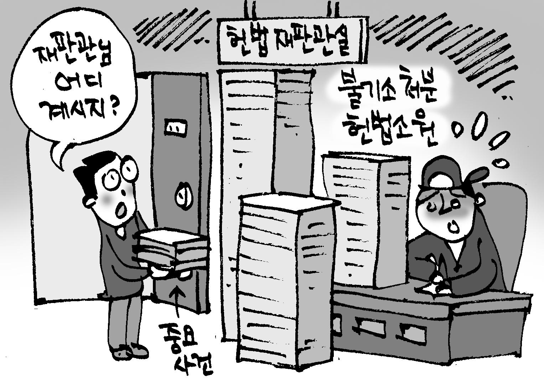 '몸살' 앓는 헌재… 헌법소원사건 연간 2000건 넘어
